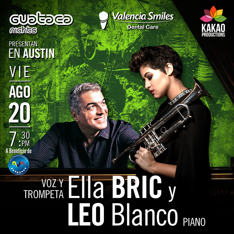 Ella Bric y Leo Blanco en CONCIERTO