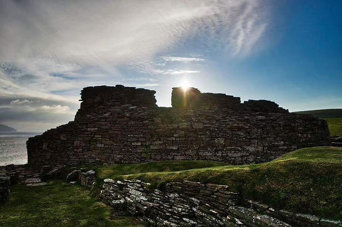 Midhowe Broch, Rousay