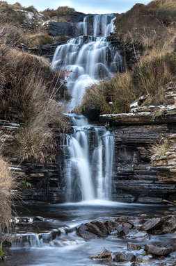 Rousay Waterfall