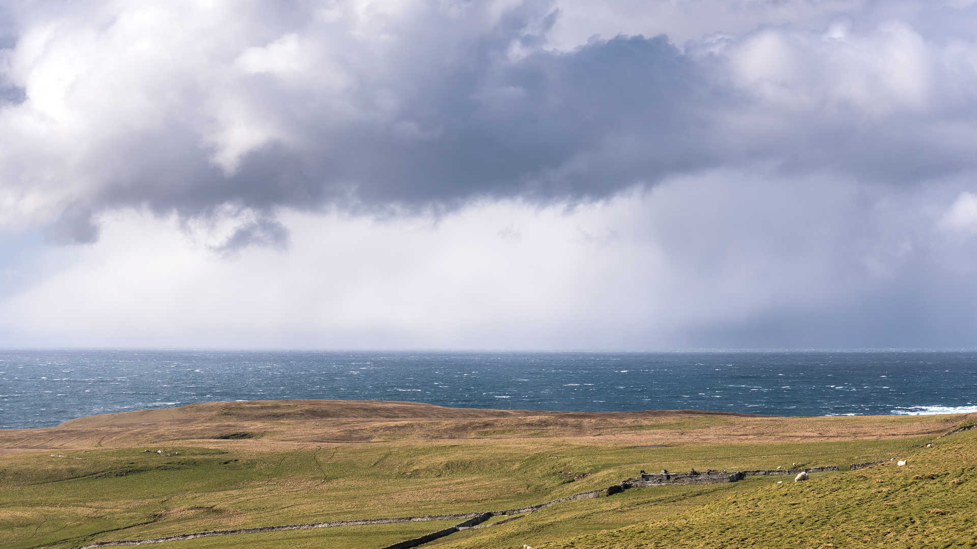 Westness Approaching Storm, Rousay