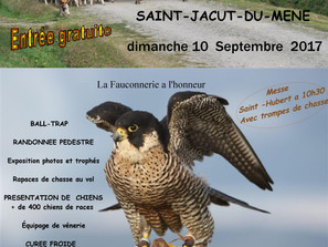 Fête de la chasse Saint Jacut du Méné dimanche 10 Septembre