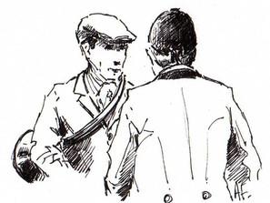 Conversation de salon sur la vénerie en 1925 par Marcel Boulenger