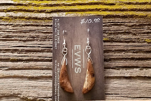 Maple Oblong Earings