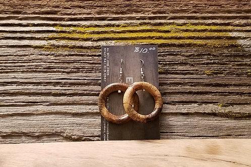 Oak ring Earrings