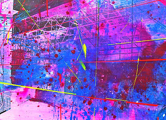 Omnipresent 03, Mixed media on canvas, 9