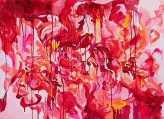 Flower, Oil on canvas, 73x100cm, 2020.JP