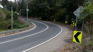The climb up to Kurrajong Heights