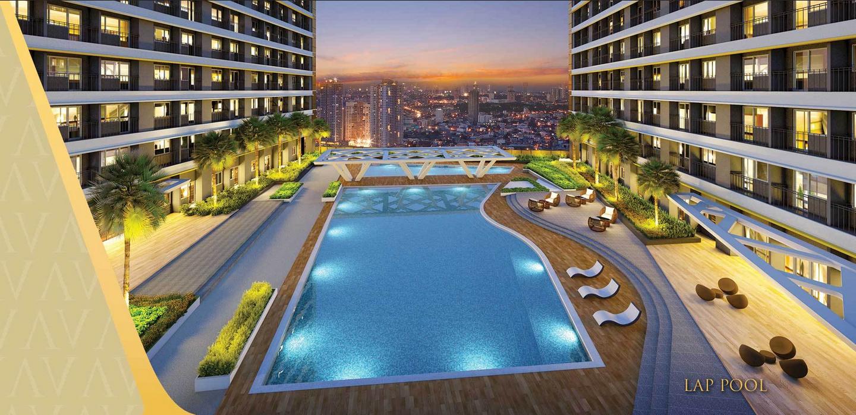 Fame residences Lap Pool1