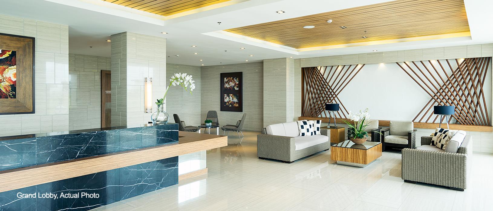Wind Residences Grand lobby 3