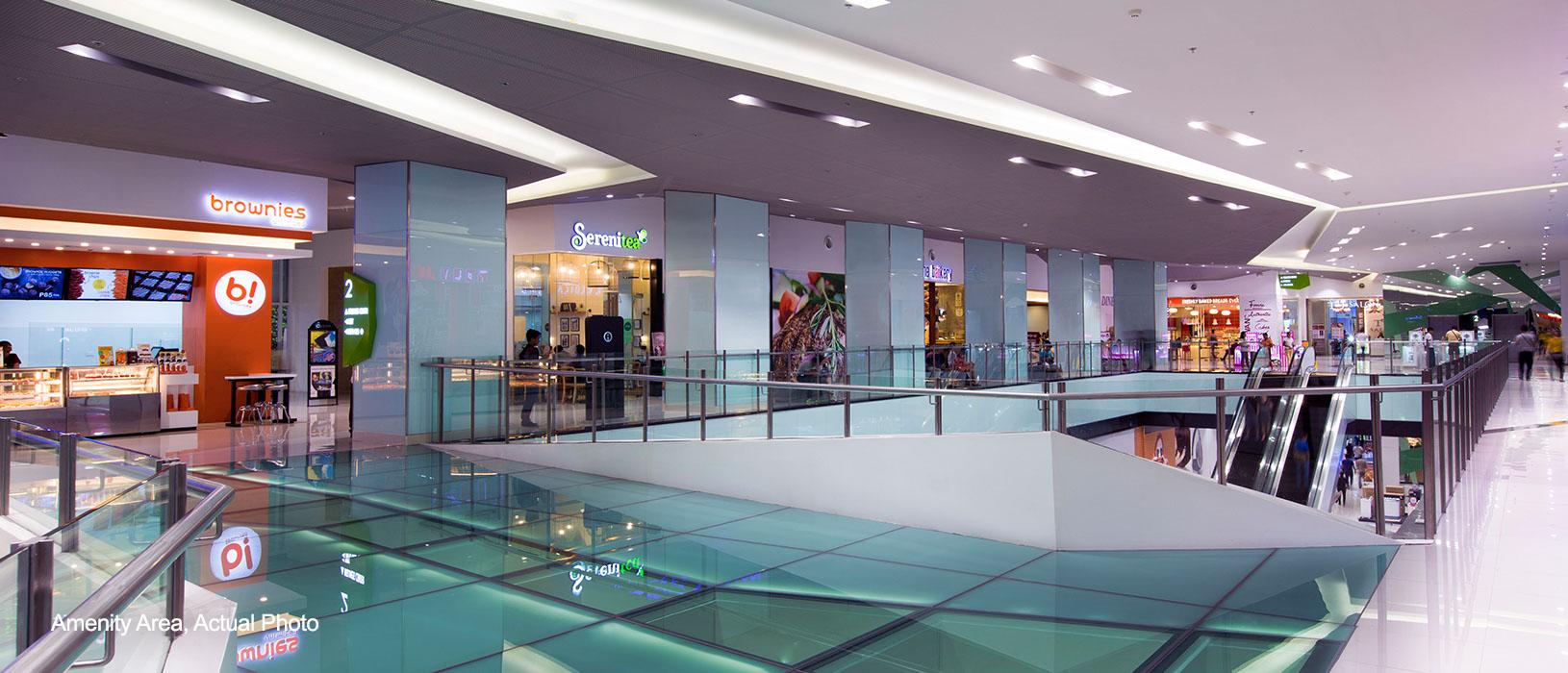 Light Residences mall