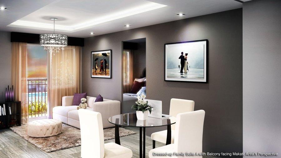 Coast Residences Family Suite A Model Unit