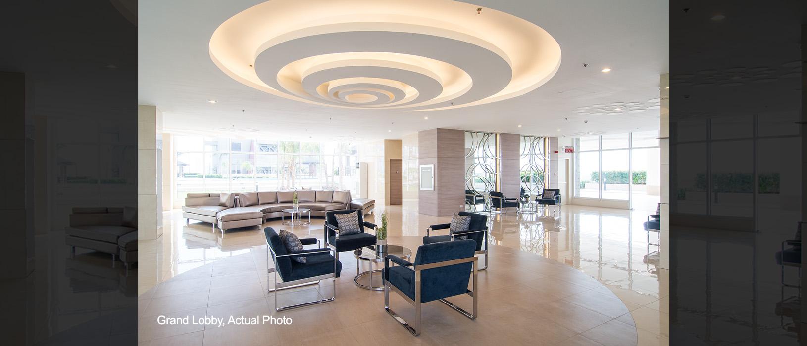 Sun Residences Grand Lobby