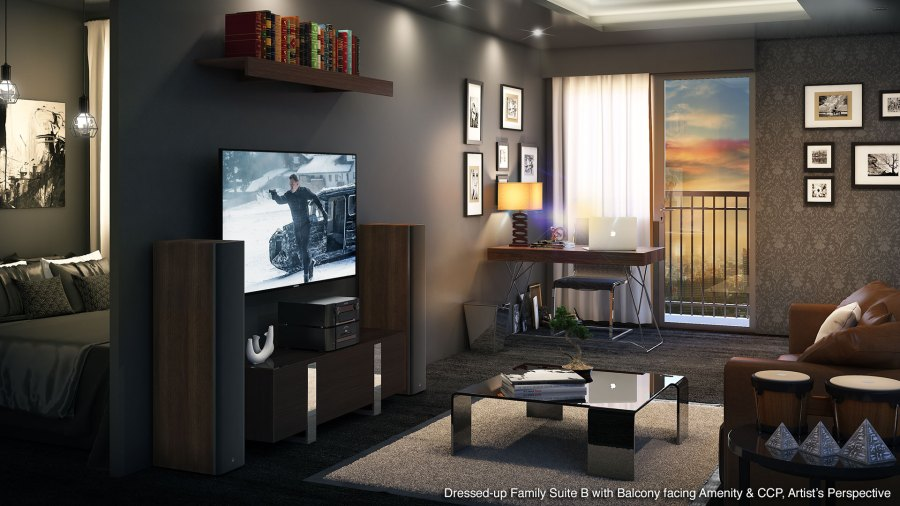 Coast Residences Family Suite B Model Unit