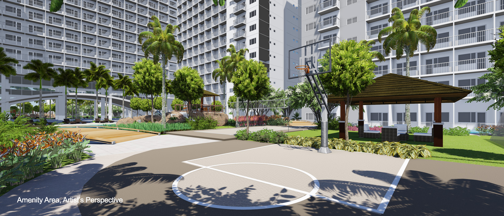 Shore Residences Basketball Court