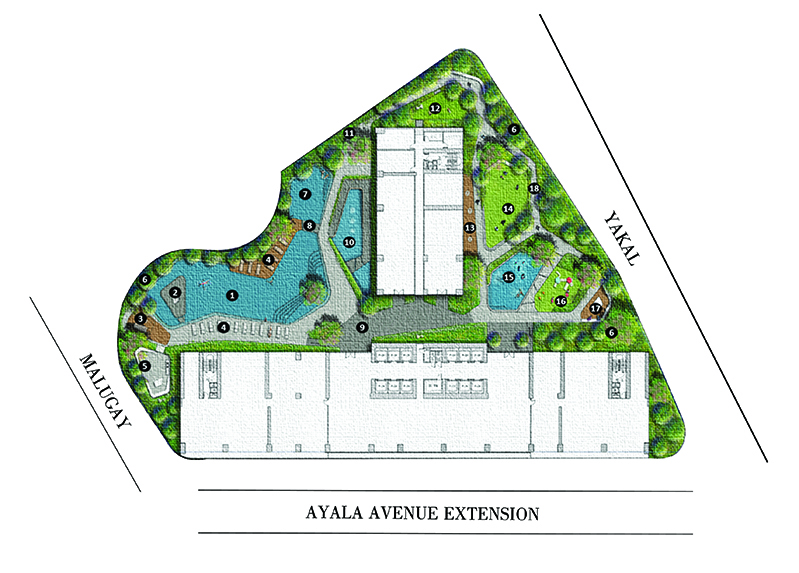 Air Residences Site Development Plan
