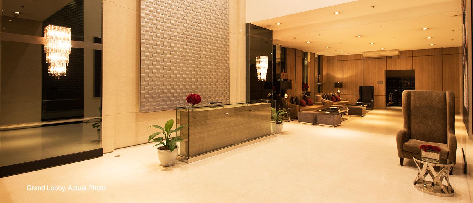 Princeton Residences Grand lobby