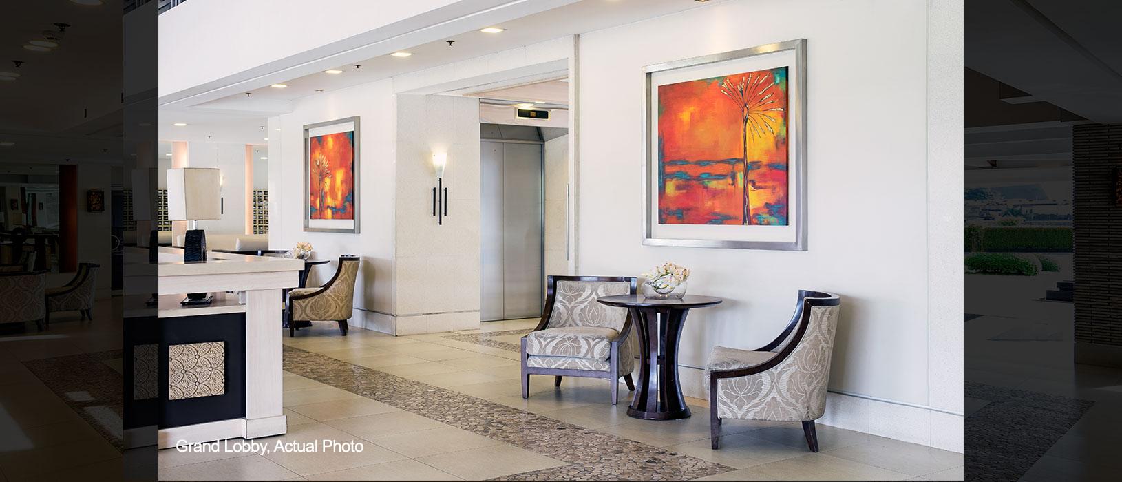 Field Residences Grand Lobby