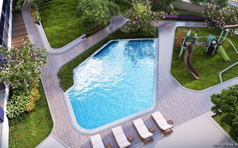 Air Residences Wall1 Pool
