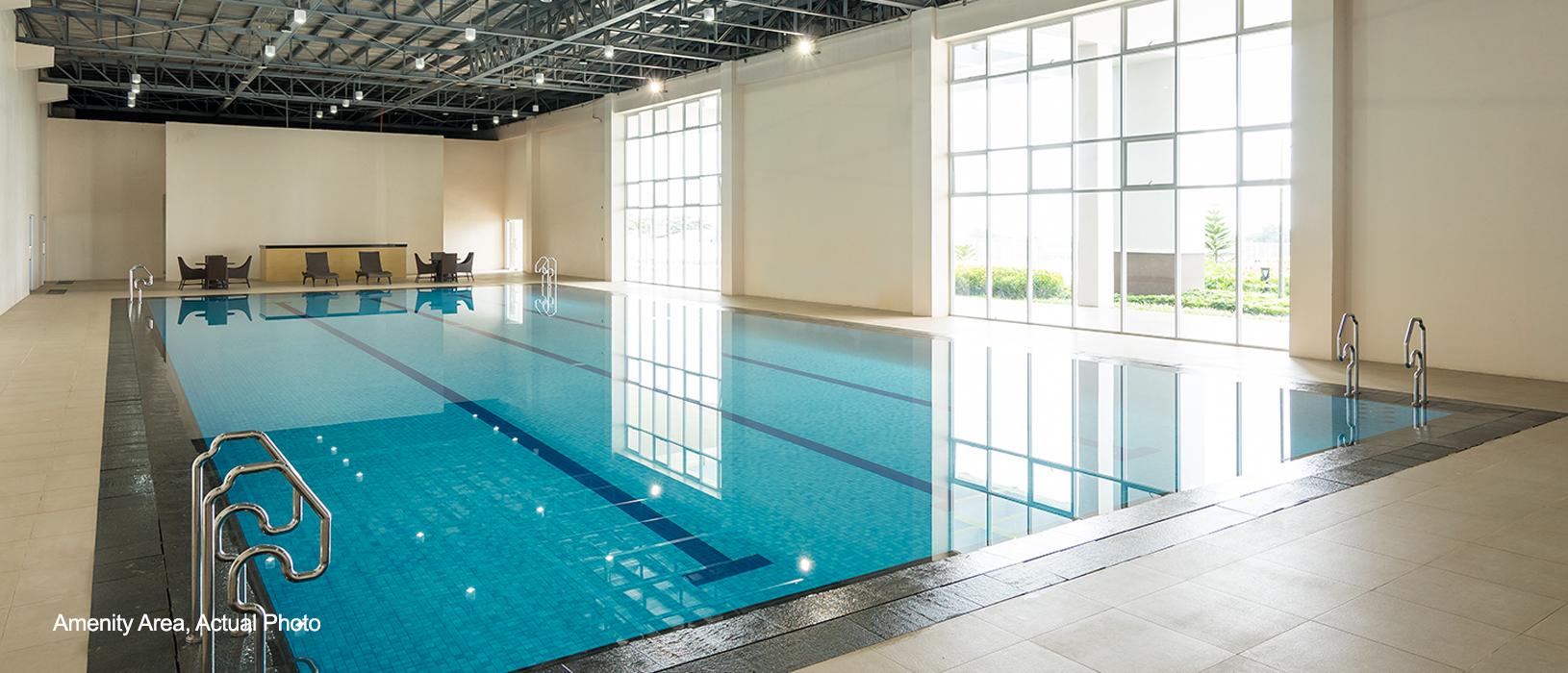 Wind Residences Indoor pool