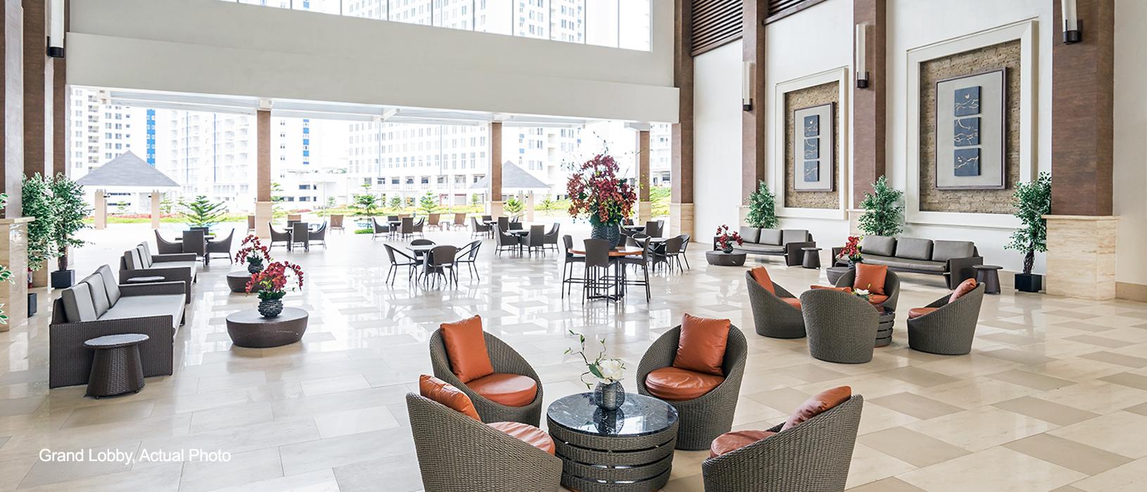 Wind Residences Grand lobby