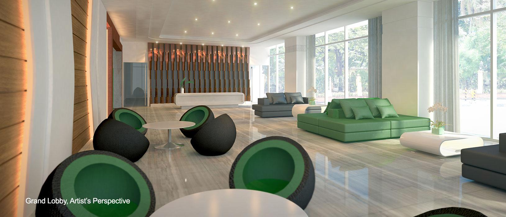 Green Residences Lobby