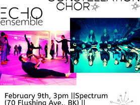 Constellation Chor Residency at Spectrum - February 9, 3pm