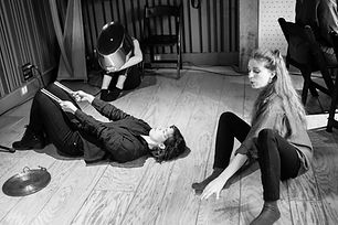 Luisa Muhr Pioneer Works Sounds of Physical Lisening C Lavender Photo: Walter Wlodarczyk