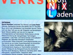 Live improv Duo with Gloria Damijan in Vienna, Austria - July 29 (7pm CET)
