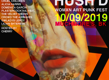 No Voice Hush'd Fest at Muchmore's - October 9 (7pm)