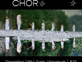 Constellation Chor Residency at Spectrum - December 14, 9pm