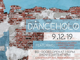 """""""Rhythm Reclamation Exorcises: Study #5"""": Duo with Daniel B. Davis at H0l0 for DanceH0l0 S"""