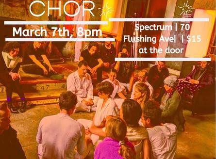 Constellation Chor Residency at Spectrum