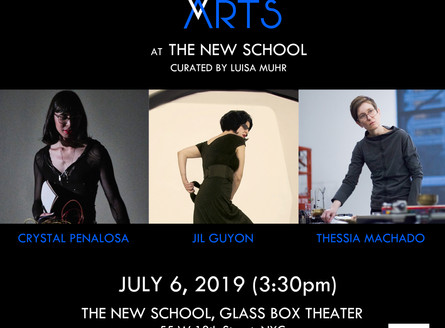 WOMEN BETWEEN ARTS Series at THE NEW SCHOOL GLASS BOX THEATER - Saturday, July 6, 3:30pm