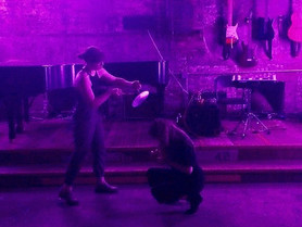 New York Music Daily / Lucid Culture Review on Duo with C. Lavender at Spectrum and Full Video