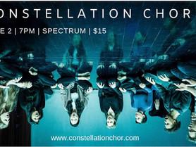 Constellation Chor at Spectrum - June 2, 7pm
