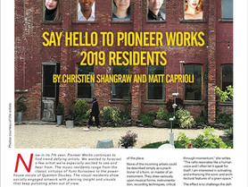"""Red Hook Star Revue in print and digital: """"Say Hello to Pioneer Works 2019 Residents"""" by C"""