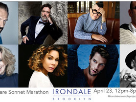 Irondale Theater's 24-hour readings of Shakespeare's Sonnets