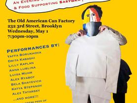 A Night for Babushka: An Evening of Post-Soviet Jewish Performance & Food Supporting Bab(oo)shka