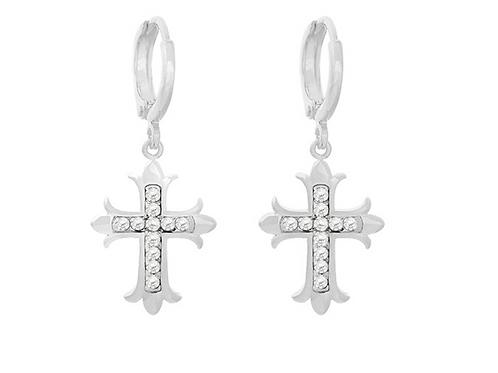Oorbellen Holy Cross