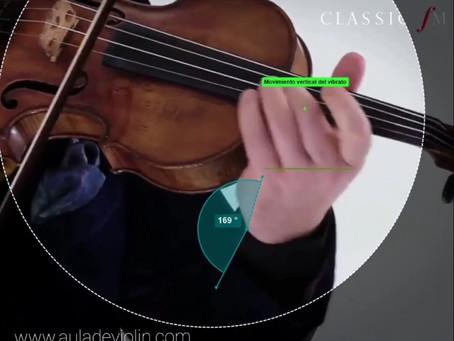 Computerised analysis of Vengerov 's vibrato