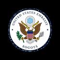 Logo embajada eeuu