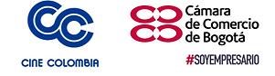 Logo Cine Colombia y Camara de Comercio Bogota