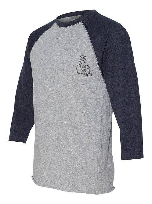 James Joyce long sleeve shirt (Grey/Black)