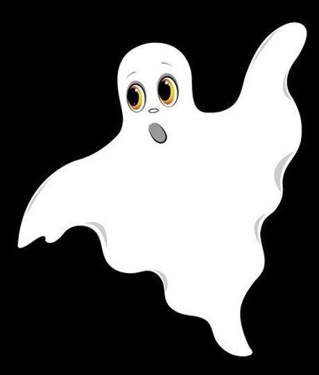 10569751-set-of-ghosts-on-a-black-backgr
