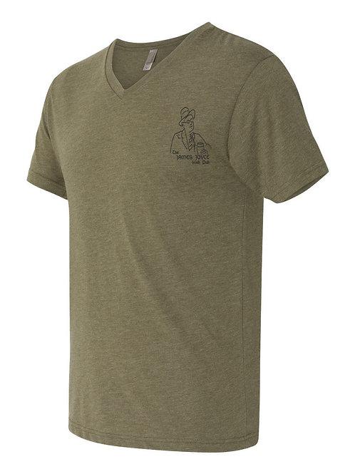 James Joyce  Tee Shirt (Green)