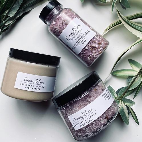 Lavender & Vanilla Body Set