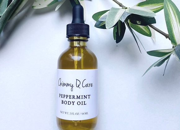 Peppermint Body Oil
