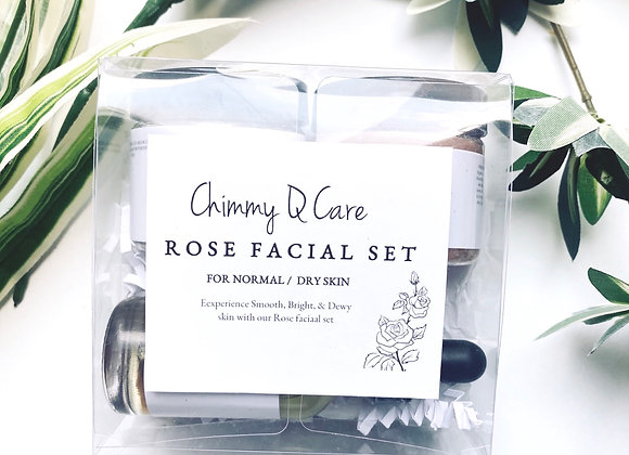 Rose Facial Set