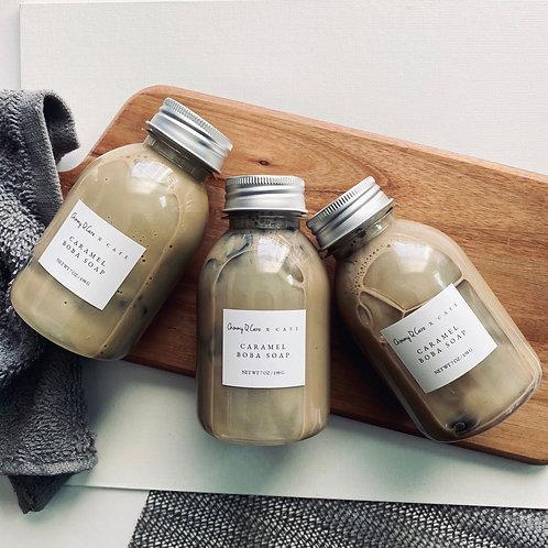 Caramel Boba Soap