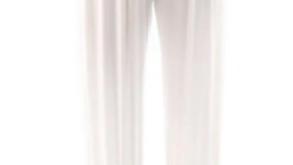 Tani Long Harem Pants White - 9972